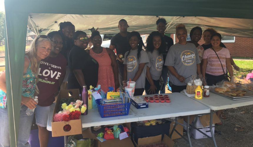 Local organization feeding the community, one meal at a time